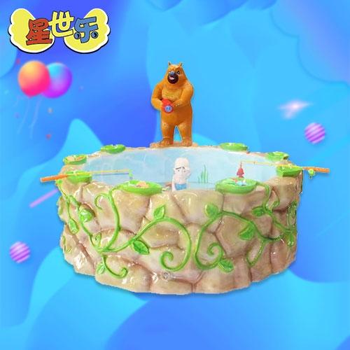 熊出没鱼池
