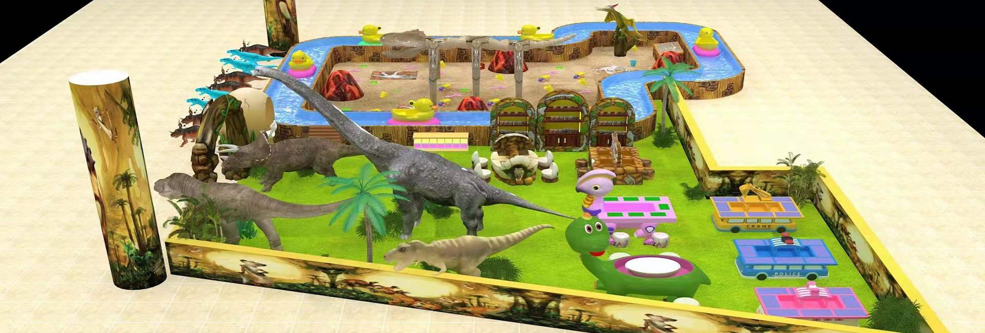 恐龙考古漂流乐园